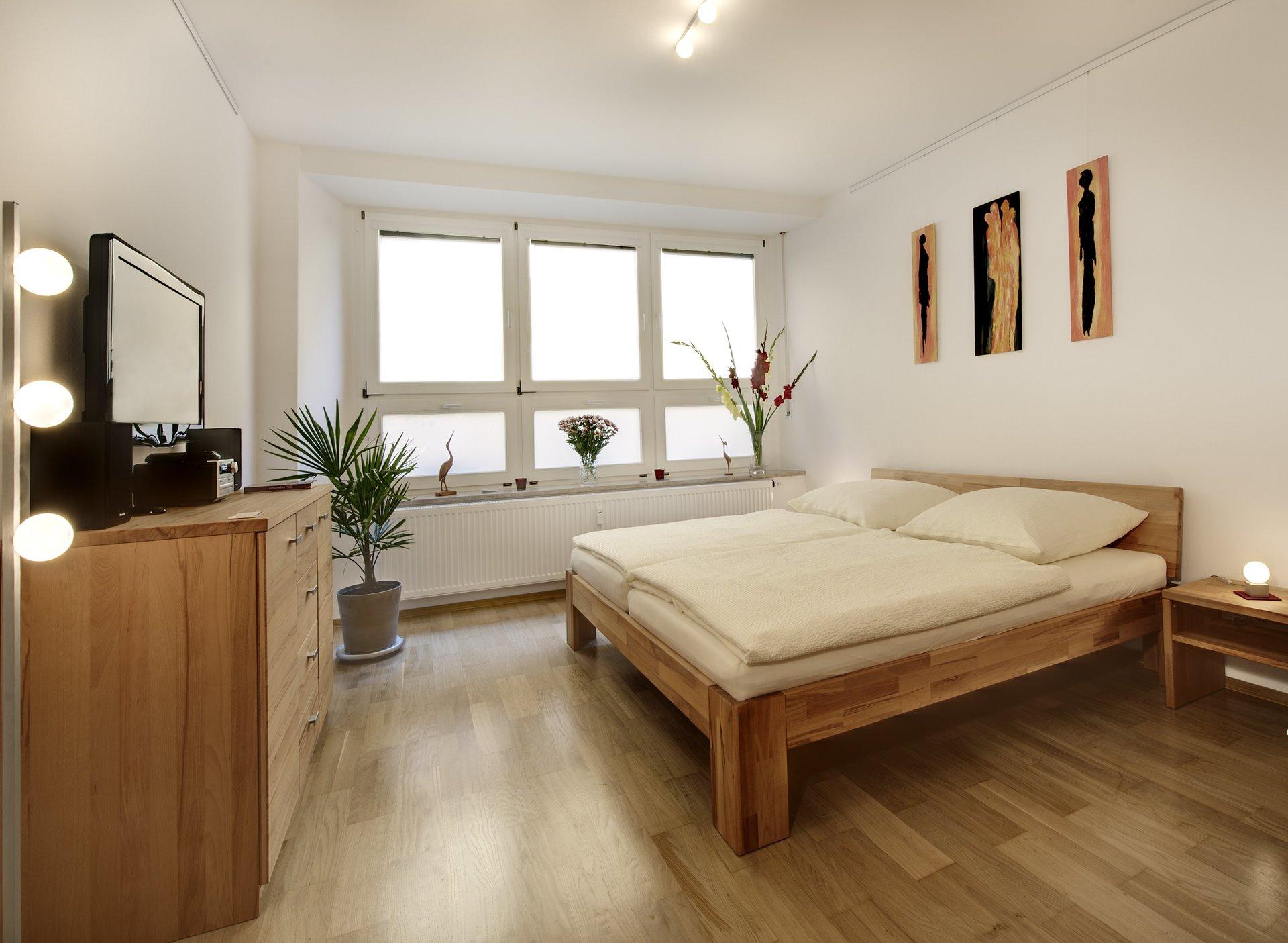 Apartment Goldener Kranich, Regensburg, Wohnraum