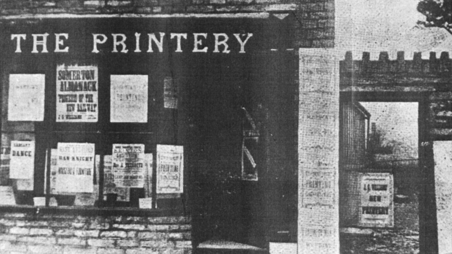 The Printery C 1920