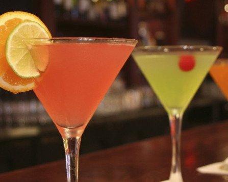 Über 50 verschiedene Cocktails in der Eleon-Bar Erlangen