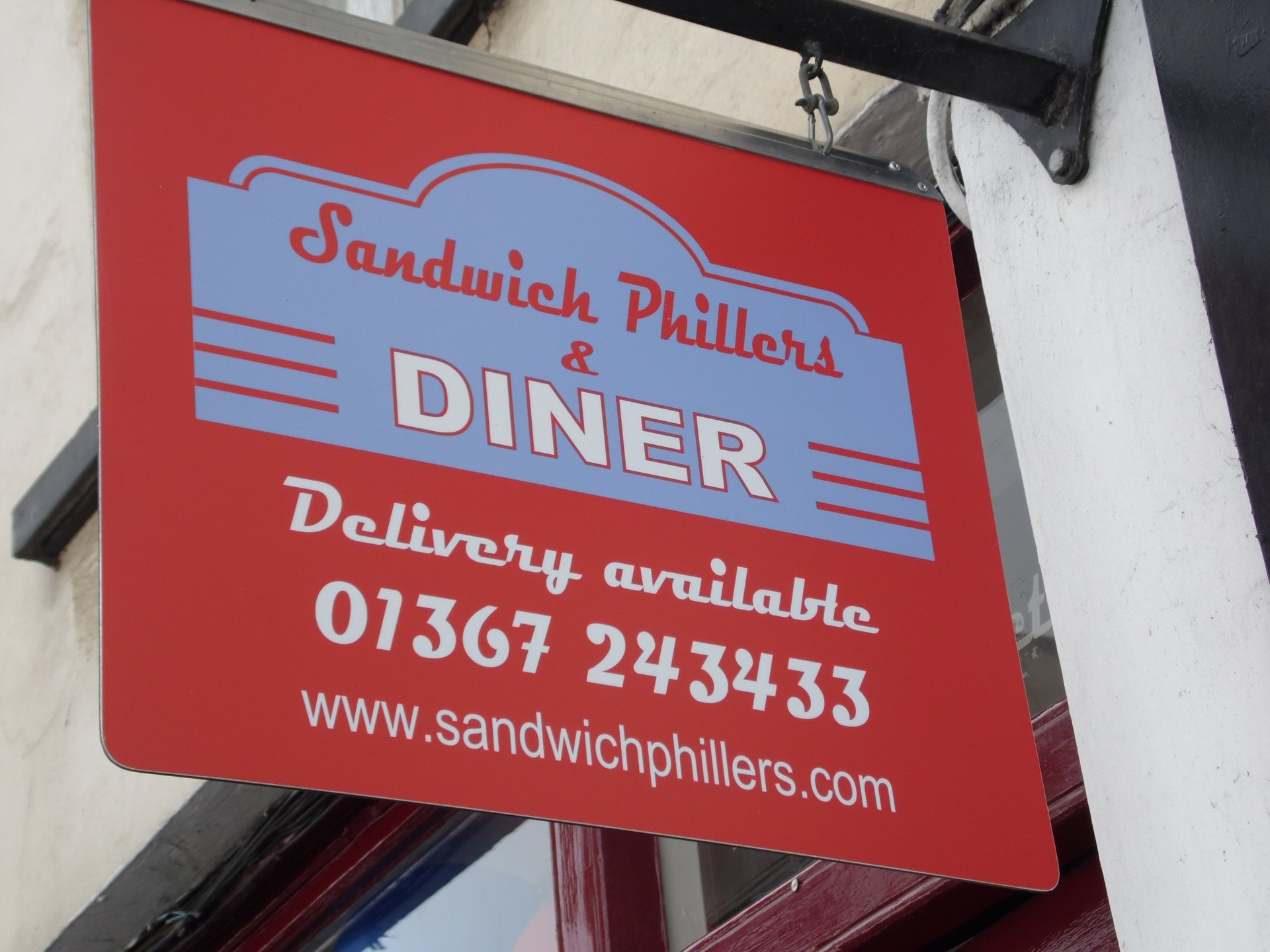 Signage Design - Sandwich Phillers - Oxford and Swindon