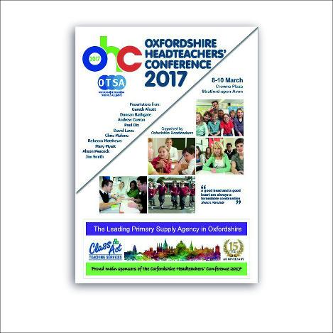 Print design - Conference brochure - OTSA - Oxford and Swindon