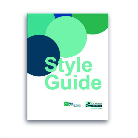 Style Guide - Print- South Oxfordshire and Vale of White Horse District Council