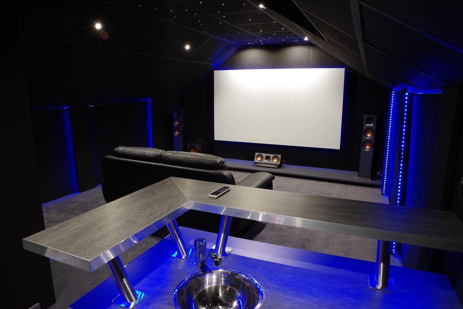 Une Salle De Cinema Chez Soi Des 24 900