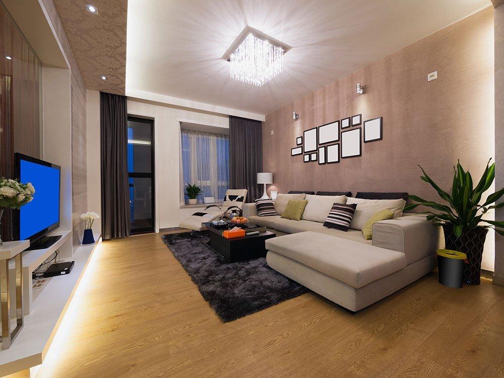 éclairage salle de séjour