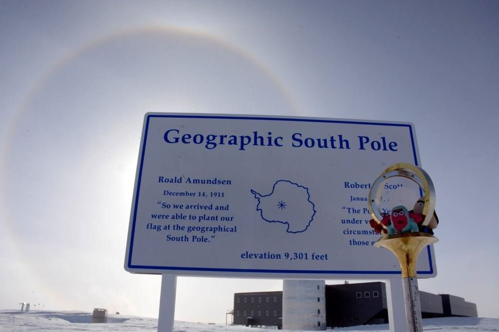 Yes, We Are Even At The South Pole