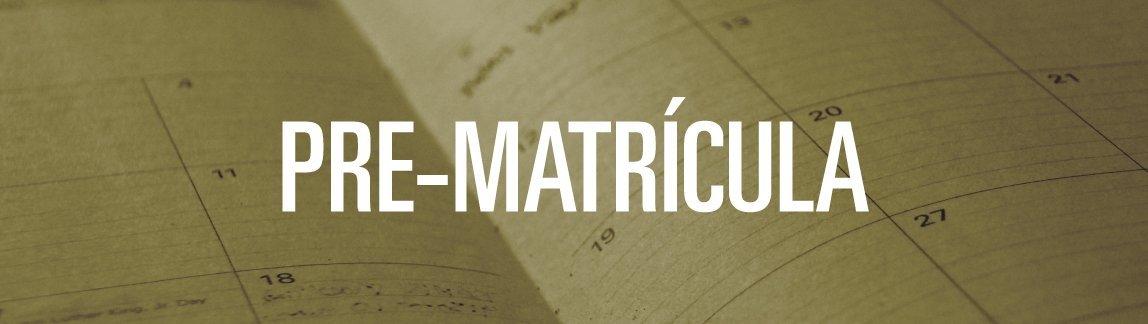 September 19th, 2017 - Pre matrícula