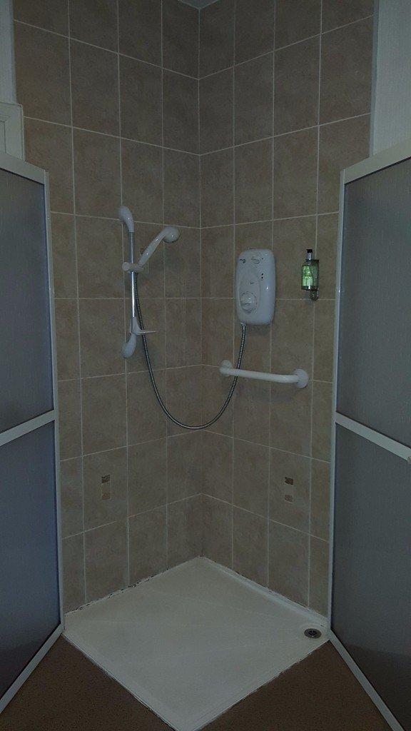 Disabled Room Shower
