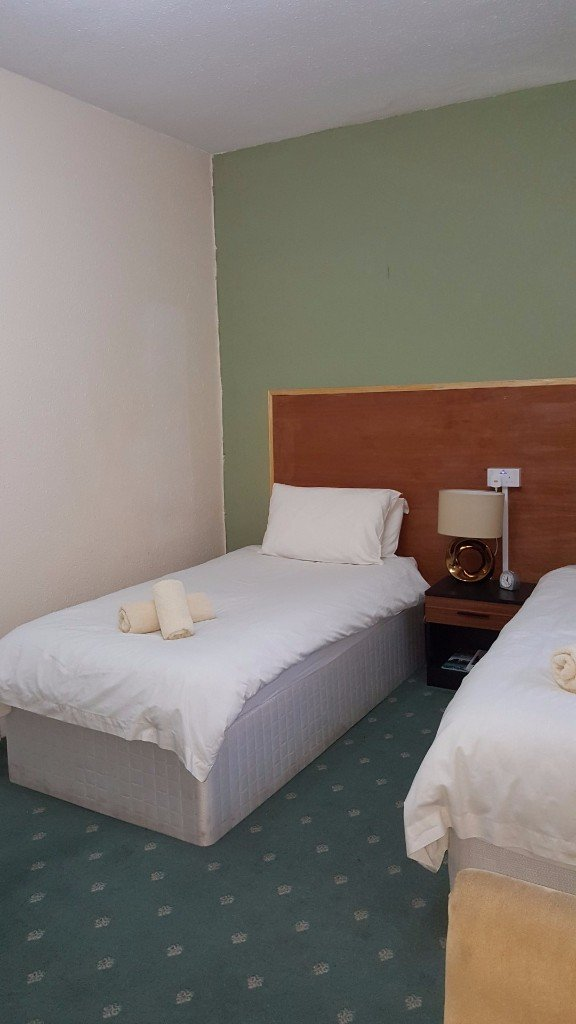 Disabled Room 2nd View of Twin Beds