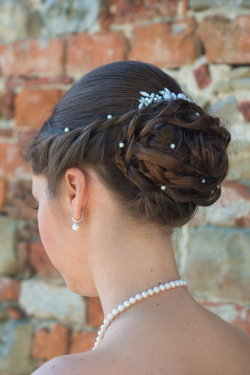 Bridal Hairstyle tutorial | brautfrisur ! Brautstyling ...