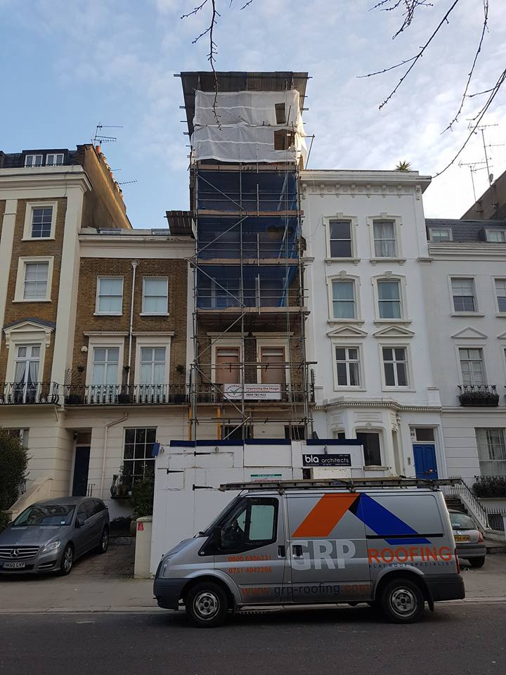 Grp Roofing Fibreglass Roofing London Flat Roofing London