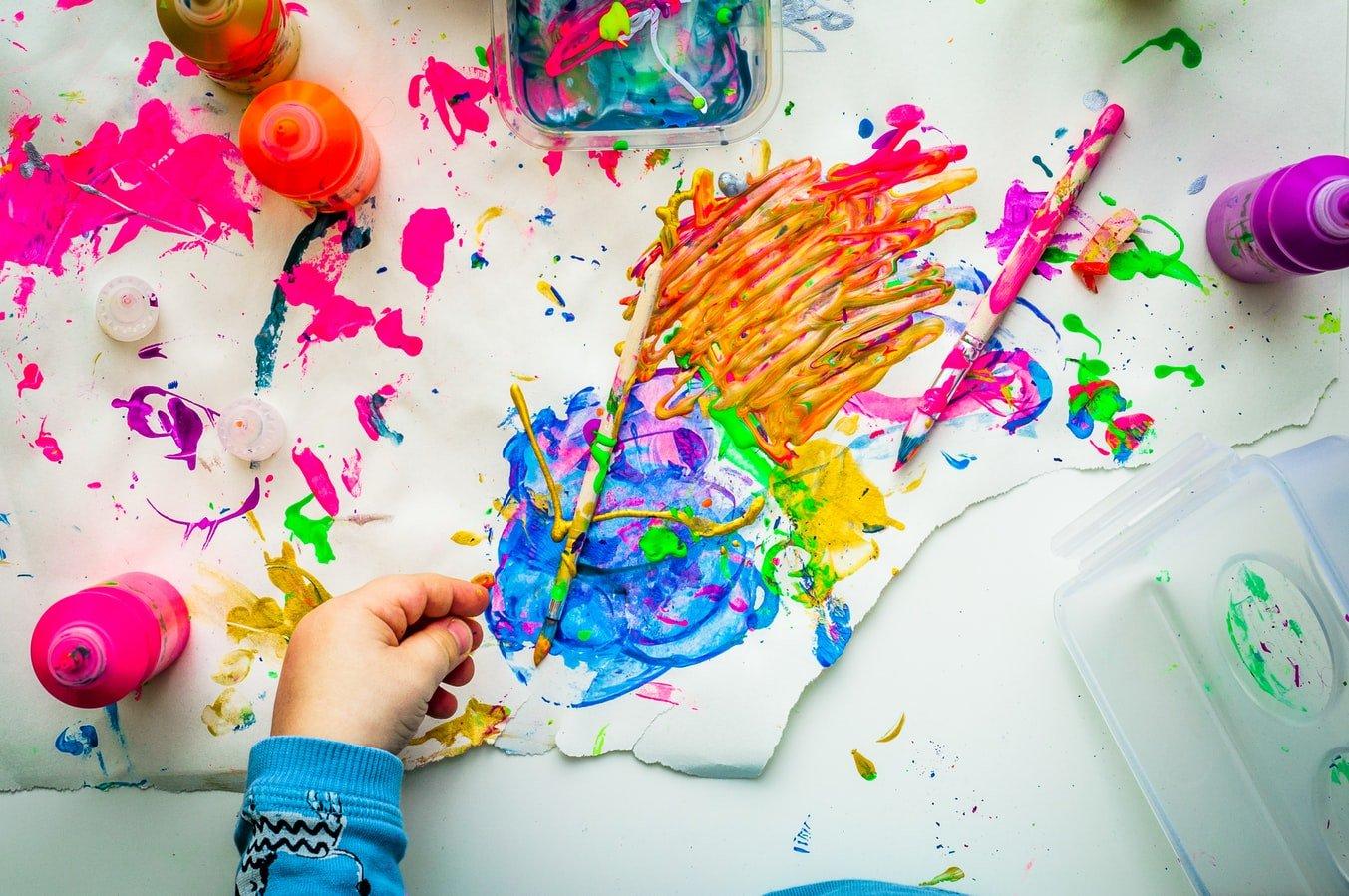 Activite Peinture Accompagner L Enfant Dans Sa Creativite