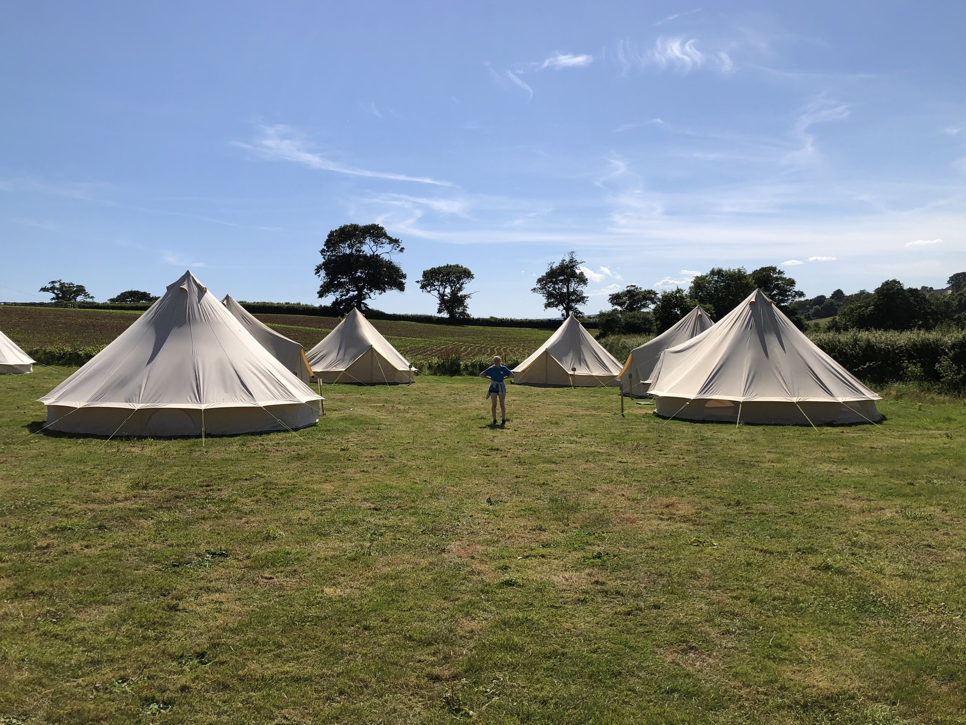 Our bell tent village & Bell Tent Glamping in Exmouth