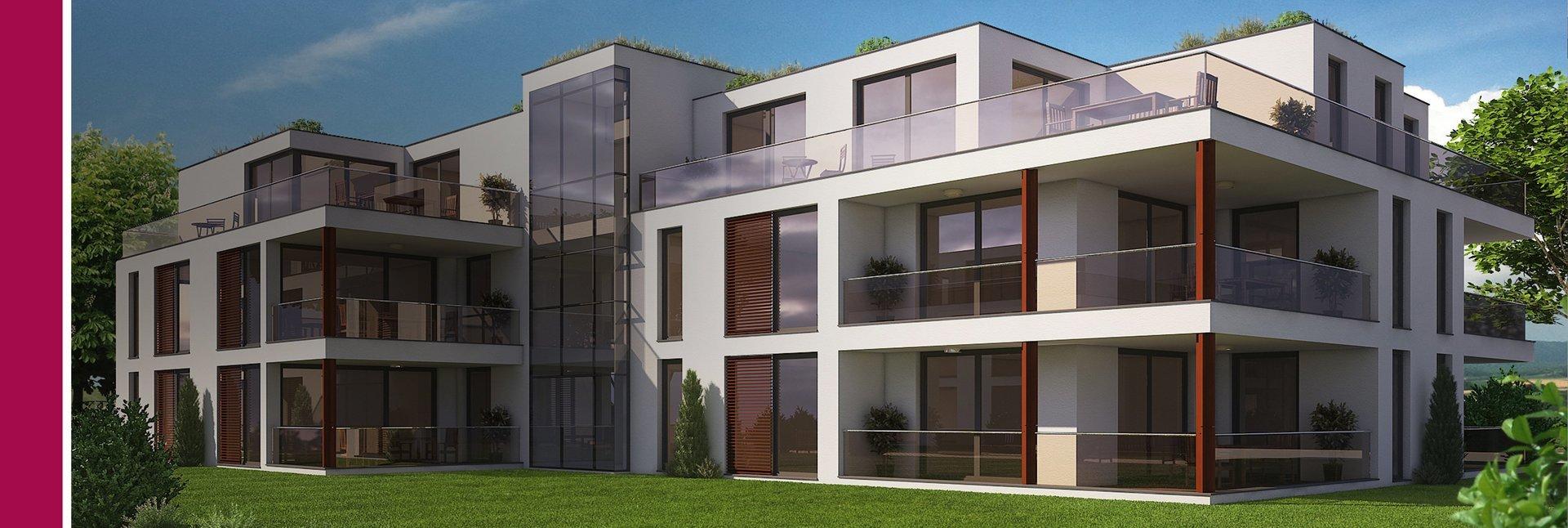Wohnpark Barrierefrei Behindertengerecht Traumwohnung Dachterrasse Dachbegrünung