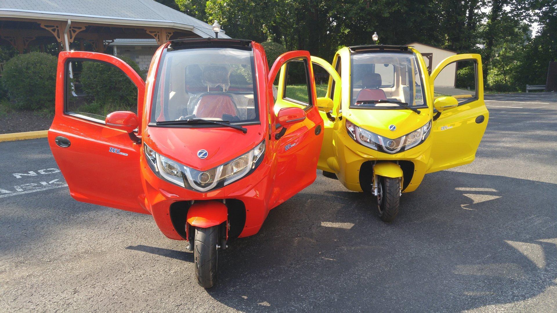 Zev T3 1 Micro Enclosed Trike