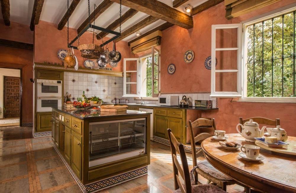 Cocinas RUSTICAS modernas en Madrid | Cocieco