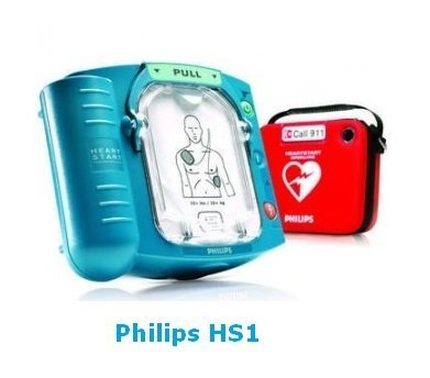 Visualice  Desfbrilador HS-1 de PHILIPS