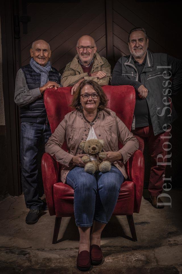 Roter Sessel Spendenaktion Babenhausen Spende Mit Dem