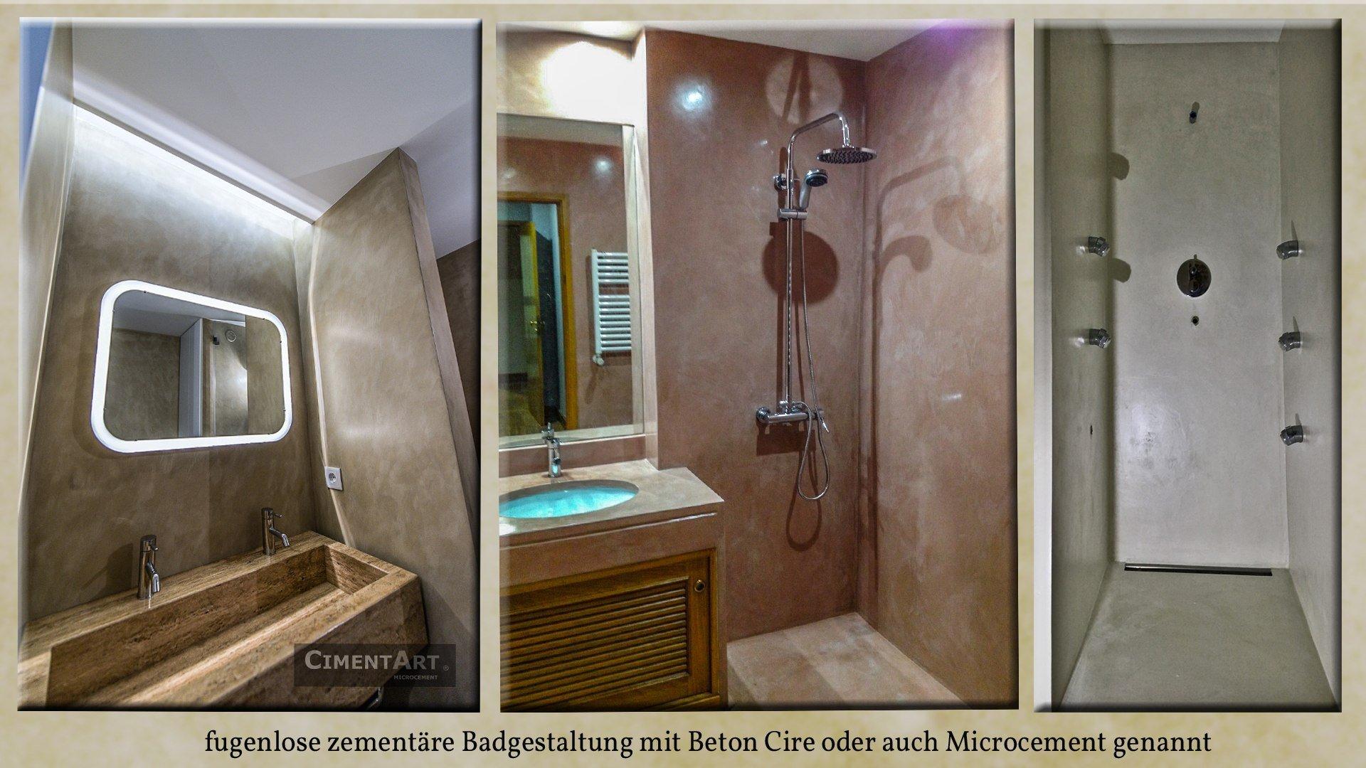 Beton treppen baddesign und spachtelböden mit zementären microcement
