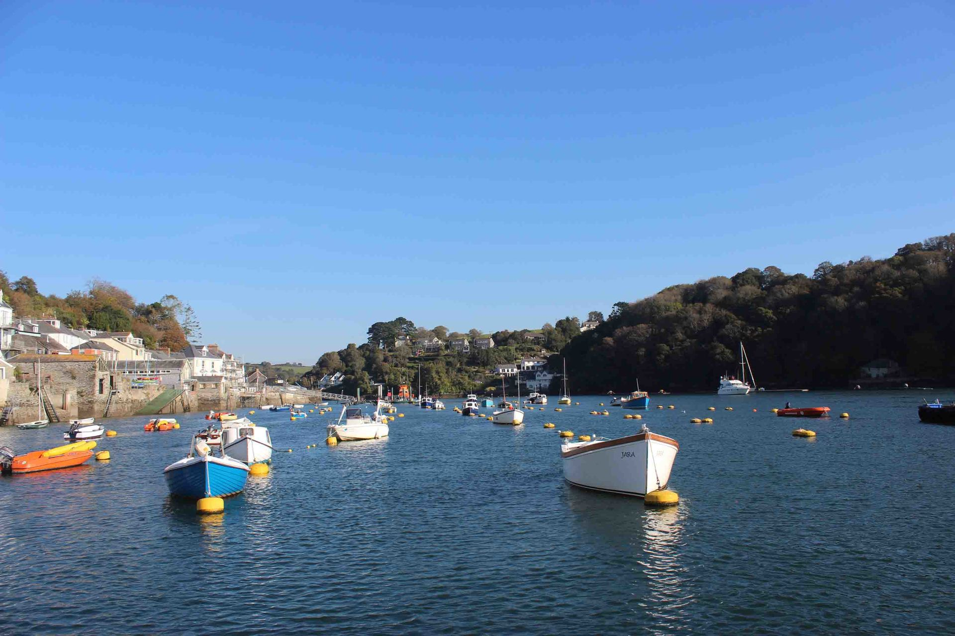 River Fowey Cornwall in photo gallery by L A Kent author of Silent Gull