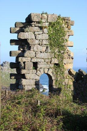 Lucia's photograph of Gurnard's Head near the Treloar family home Cove Farm photo by L A Kent Cornish author of Inspector Treloar Mysteries