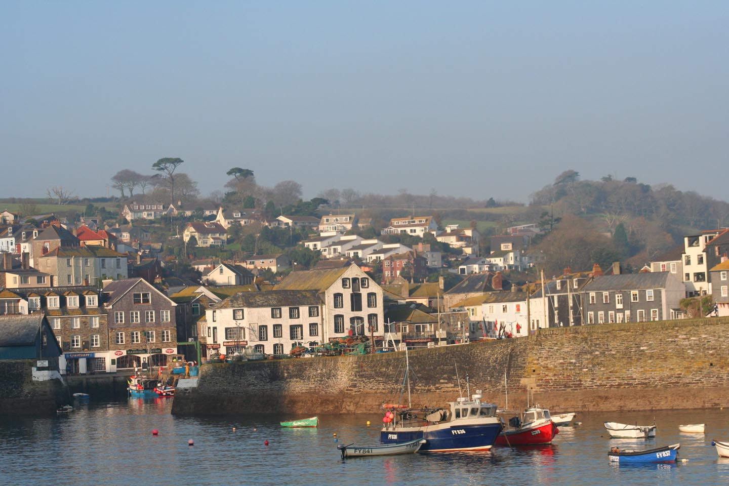 Mevagissey in winter Cornwall in photo gallery by L A Kent author of Rogue Flamingo