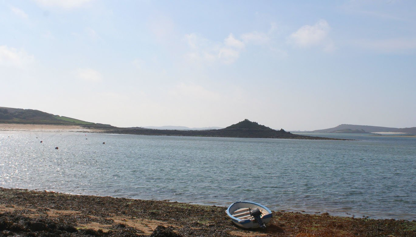 Tresco boat Isles of Scilly Cornwall in photo gallery by L A Kent author of Sad Pelican