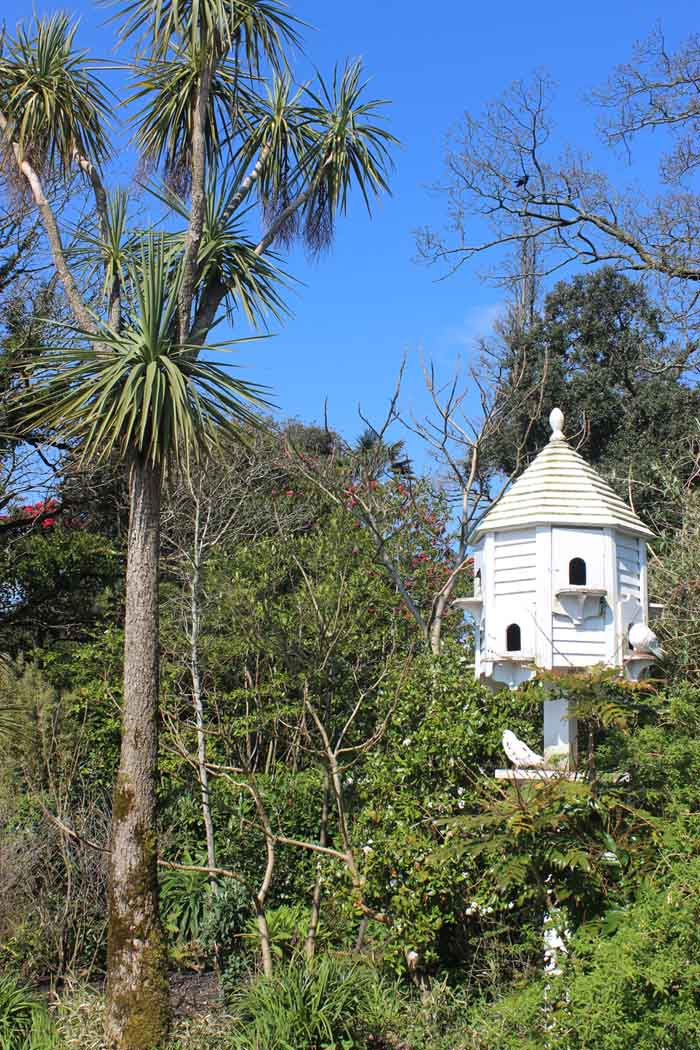 Lost Gardens of Heligan dovecote Cornwall in photo gallery by L A Kent author of Silemt Gull