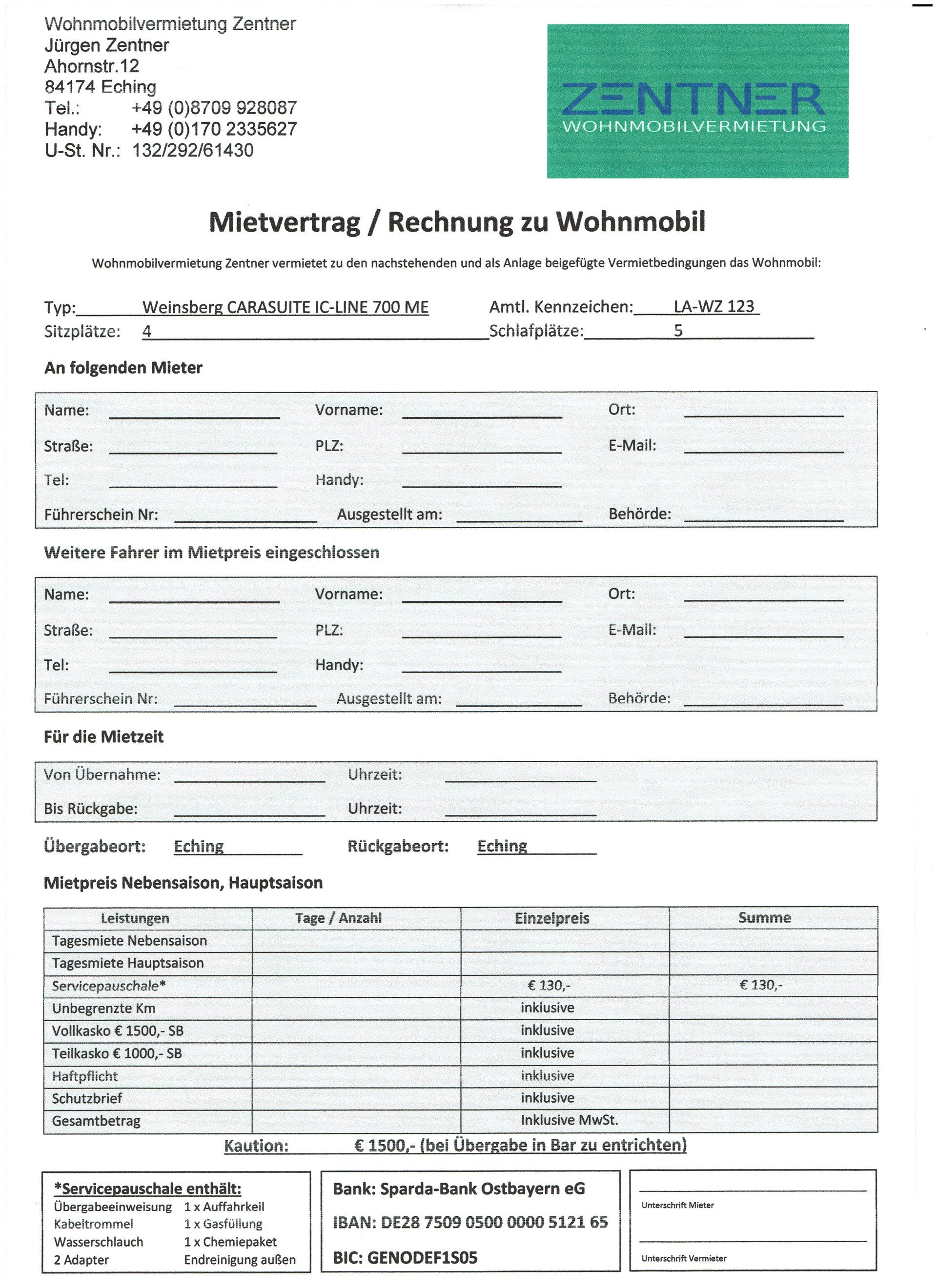 Meine Seite - Wohnmobil, Alle Kilometer frei, Urlaub, Weinsberg ...
