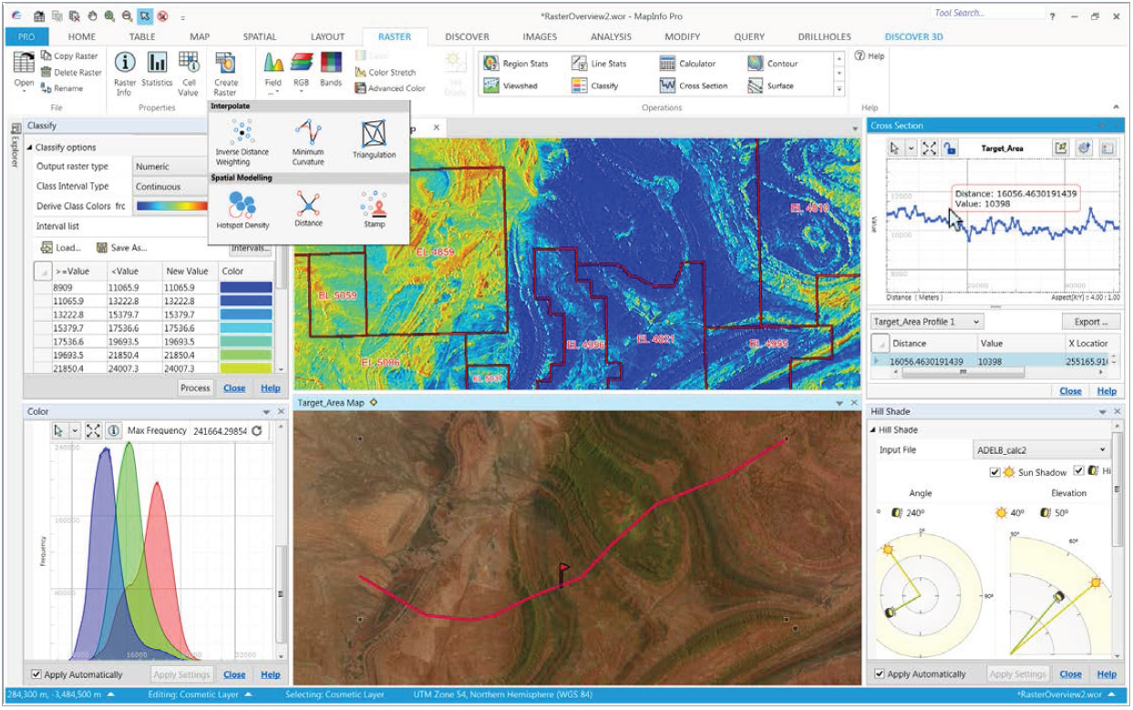 Pelican Geographics Datamine Discover