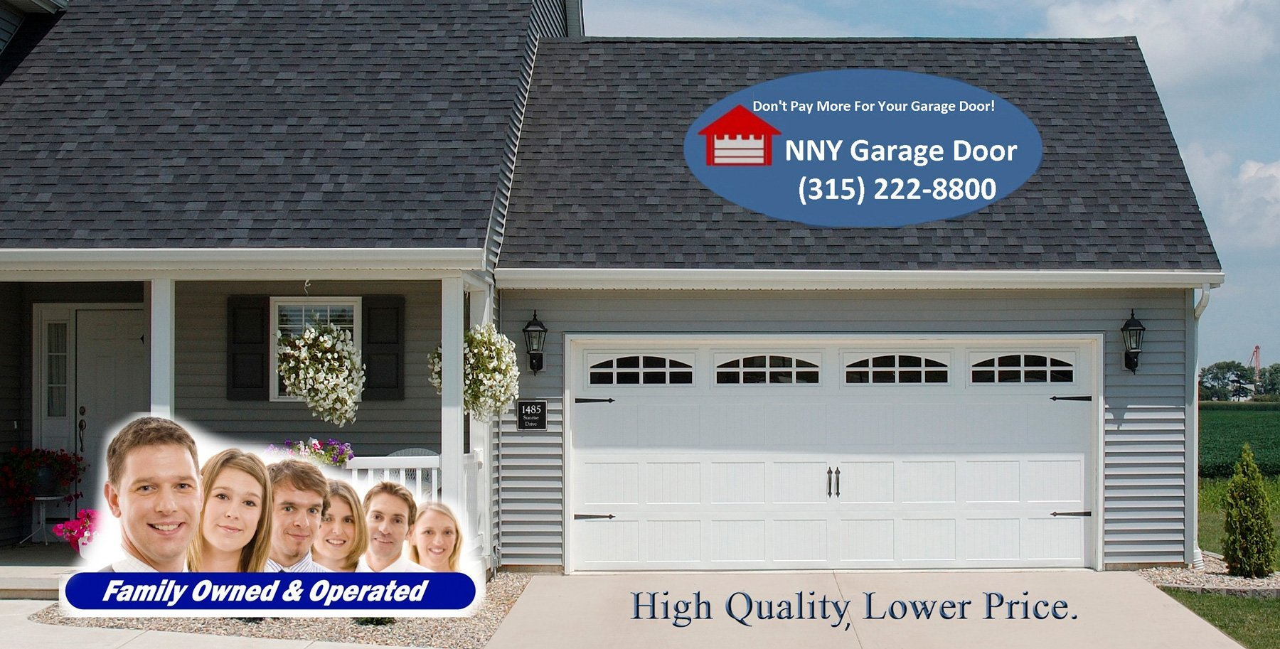 Northern ny garage door watertown ny sales repairs for Garage appeal coupon code