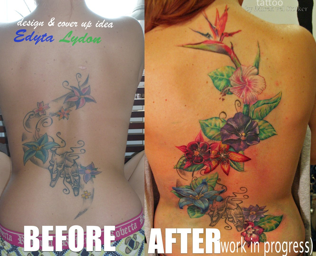 London Blue Lady Tattoo & Piercing- Specialising in Cover Ups