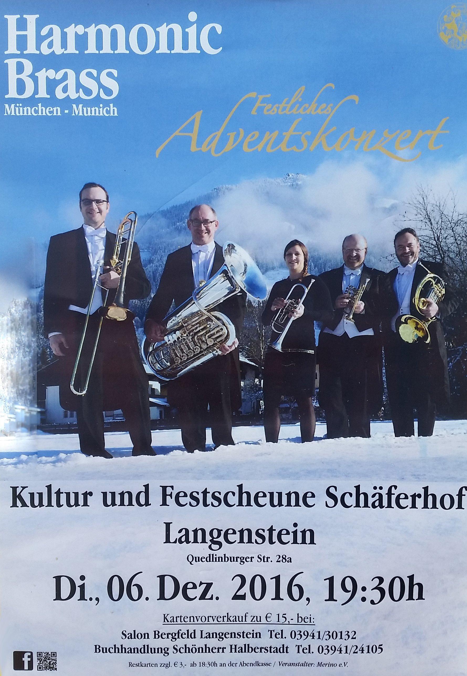 Plakat Harmonic Brass
