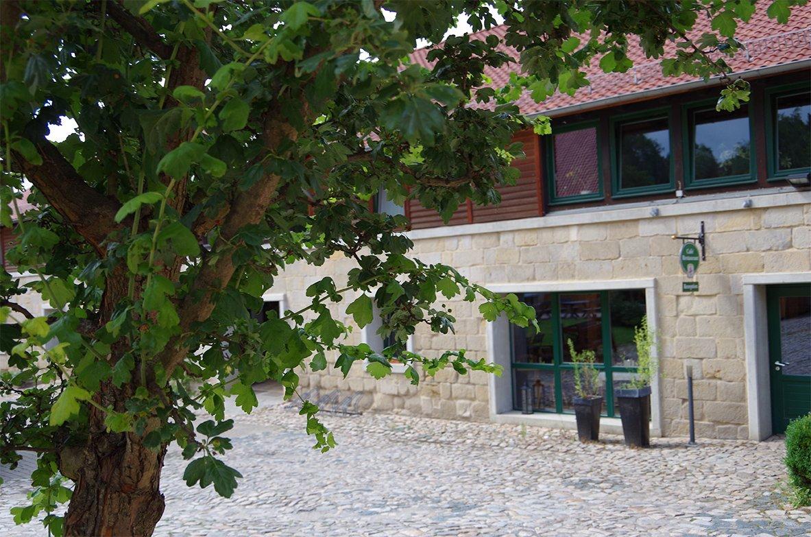 Eingangsbereich Landhotel Schäferhof