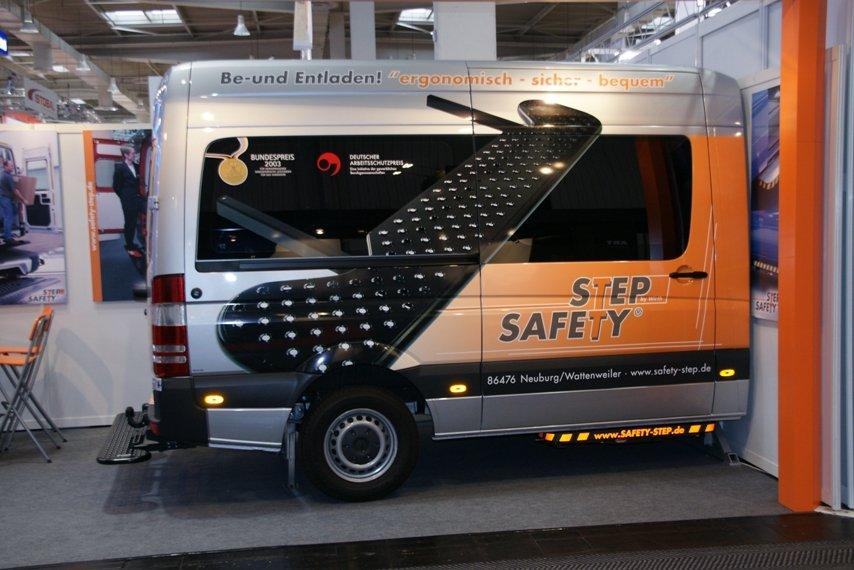 Safety-Step Messeauftritt