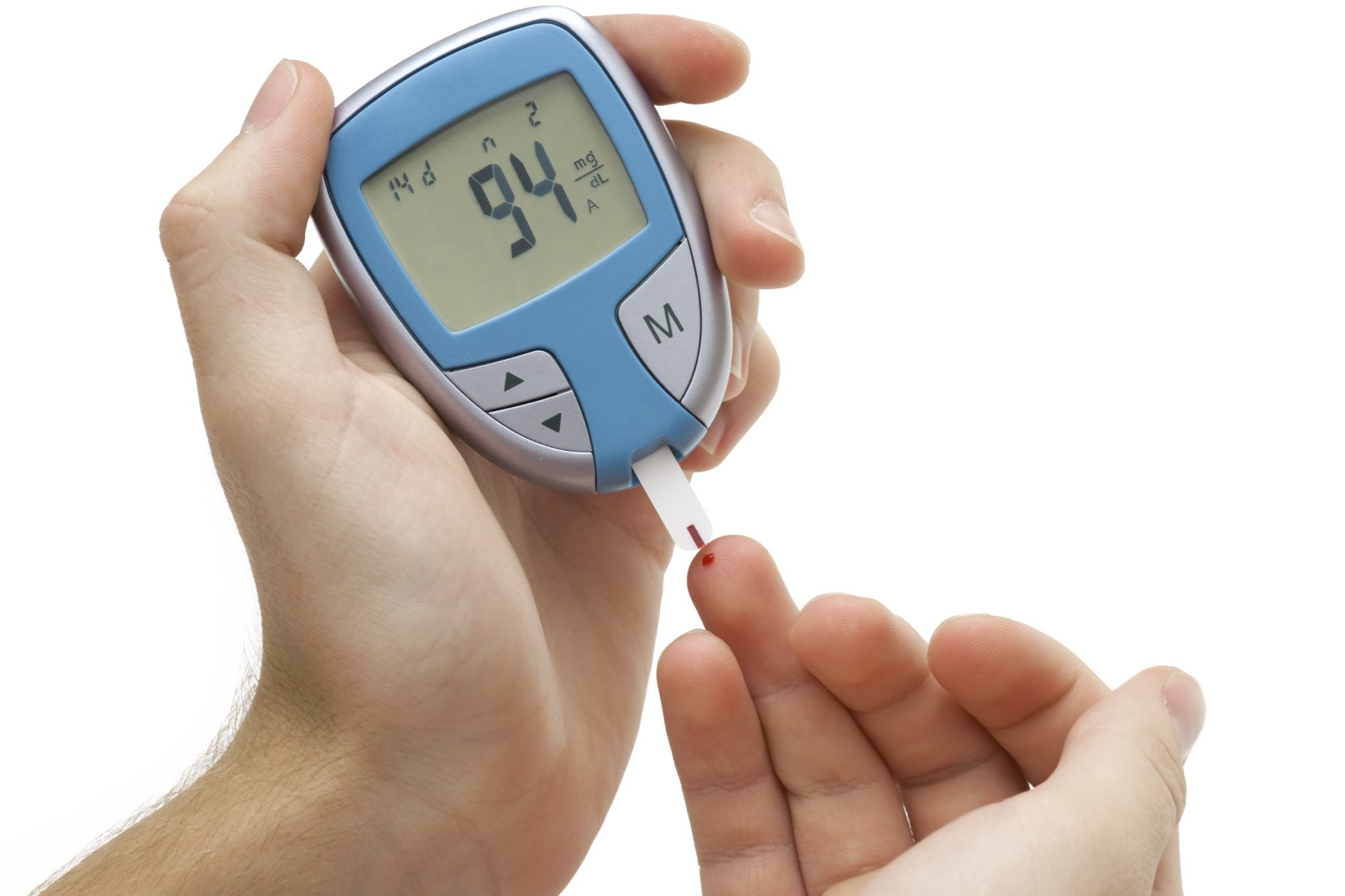 Blood monitor for diabetes
